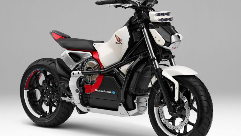 Honda bringing Riding Assist-e concept motorcycle to Tokyo Motor Show