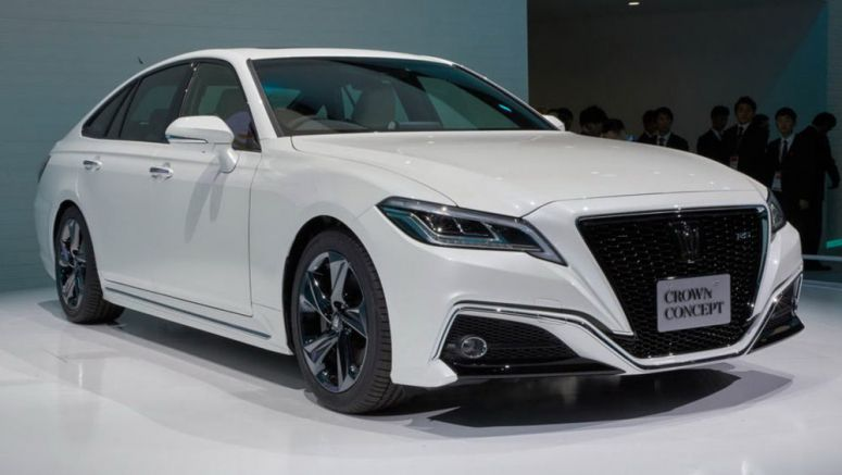Toyota Crown Concept Hails Arrival Of 2018 Production Model