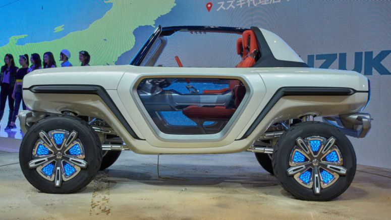 Suzuki E-Survivor Concept Looks Like A Jeep-Inspired Mars Rover