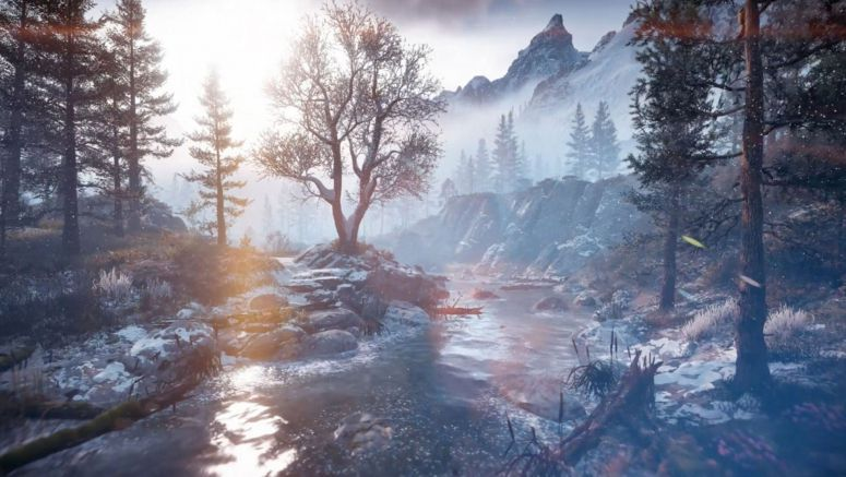 Horizon Zero Dawn: The Frozen Wilds – Explore the Northern Wasteland of the Cut