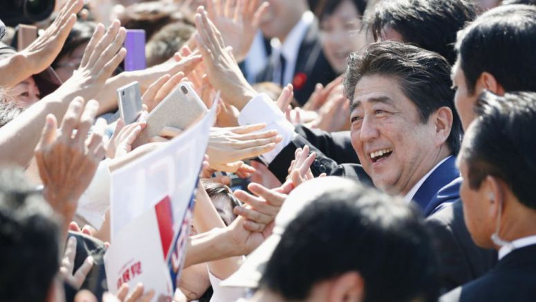 Three-way lower house election battle heats up in heart of Tokyo