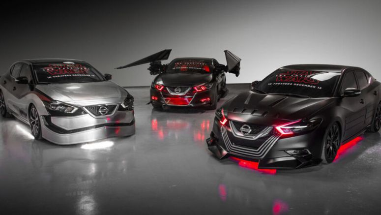 Nissan Gets Into The Star Wars Spirit With Six 'Last Jedi' Concepts