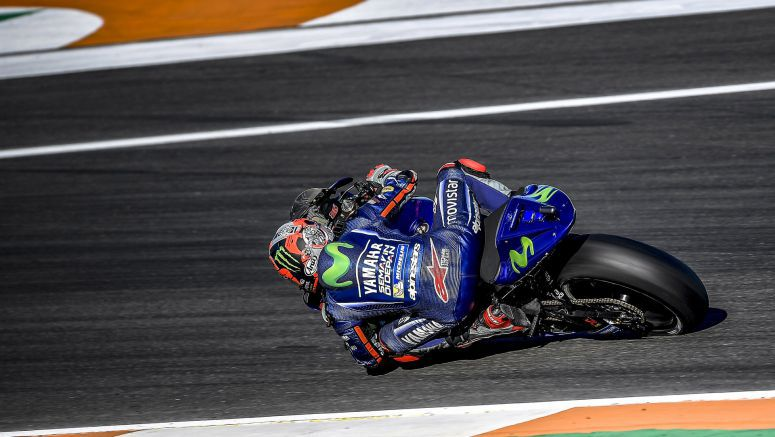 Movistar Yamaha Find Mojo on First Valencia Test Day