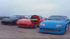 Driving The Honda NSX, Toyota Supra And Mazda RX-7 Back-To-Back