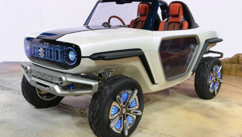 Suzuki Showcases Compact EV for Off-road Use