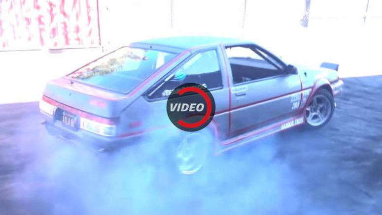 All-Electric Toyota AE86 Drift Car Is Actually Pretty Cool
