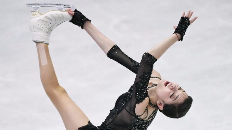 Figure skating: Medvedeva, Voronov win at NHK Trophy as Russians sweep singles
