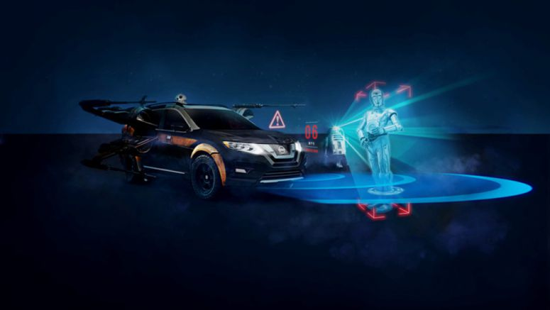 Nissan dealers welcome 'Star Wars'-themed Augmented Reality Experience to demonstrate advanced technologies
