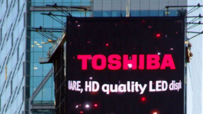 Toshiba to remove Times Square advertising in cost-cutting move