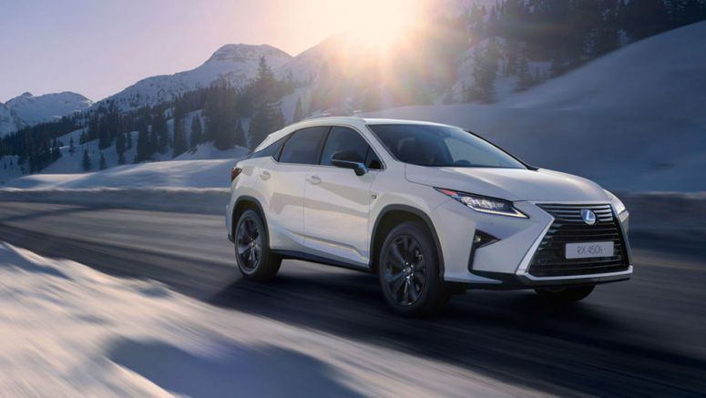 New Lexus RX Sport Package Introduced in Europe