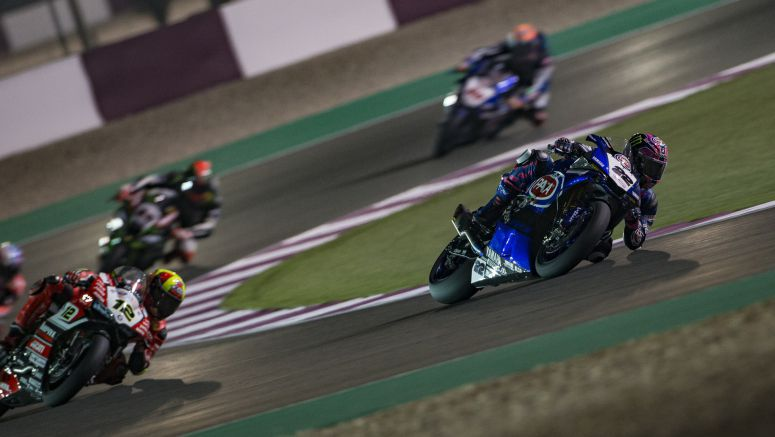 Bad Luck for Pata Yamaha Pair in Qatar Race 1