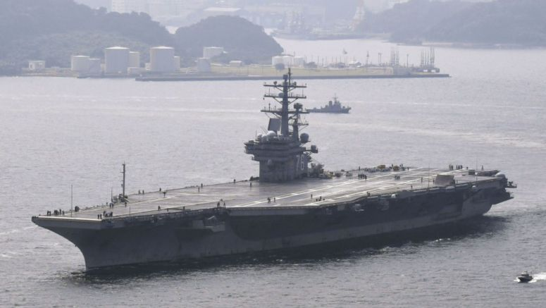 3 U.S. carriers to hold exercise in Sea of Japan on Nov. 11-14