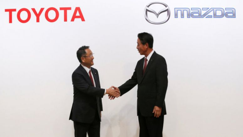 Toyota/Mazda factory will reportedly be in Alabama or North Carolina