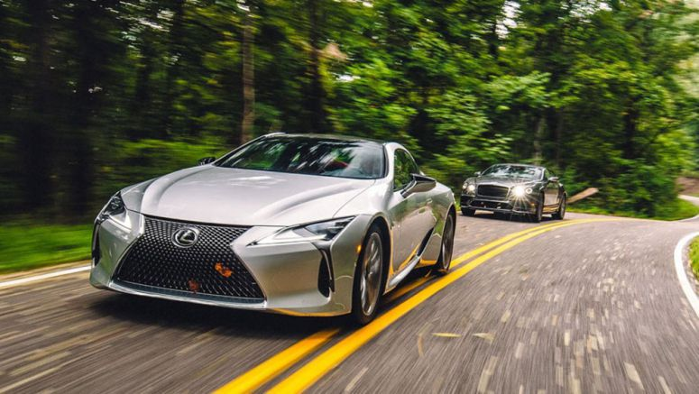 Lexus LC 500 Beats Bentley Continental Supersports in Road & Track Comparison
