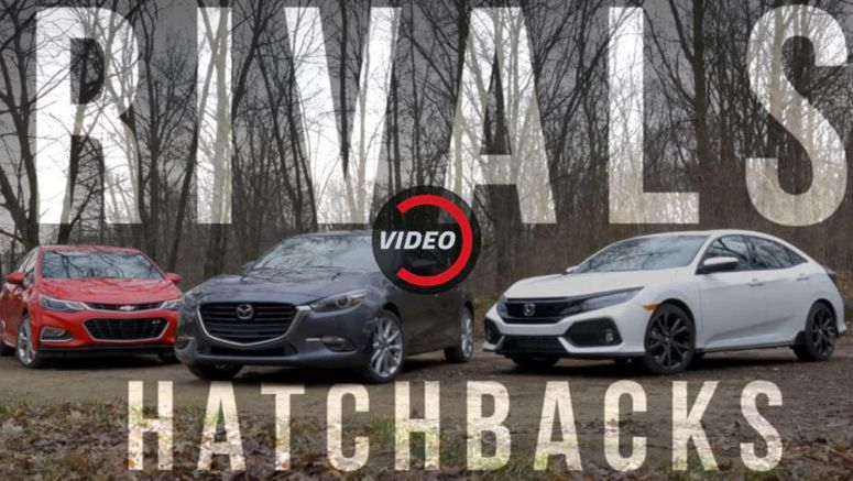 Honda Civic, Mazda 3, And Chevy Cruze Batten Down The Hatches