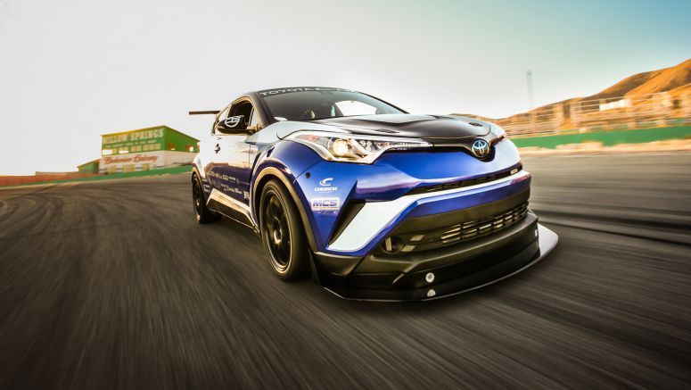 Toyota C-HR R-Tuned: 447kW racer headlines stand at SEMANASCAR-inspired Camry duo also debut