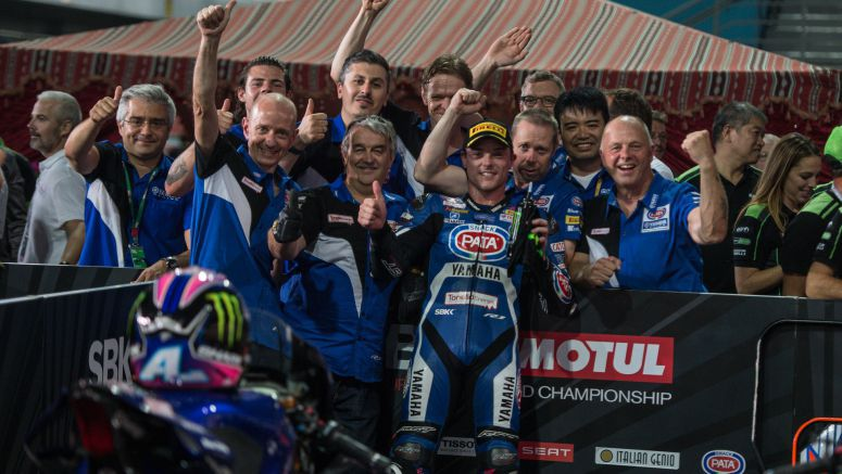 Lowes Back on the Podium as Pata Yamaha End Season in Sensational Fashion