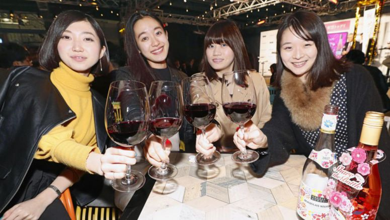 Beaujolais Nouveau released in Japan amid declining demand