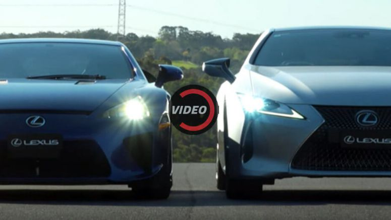 Can You Really Compare The New Lexus LC To The Old LFA?