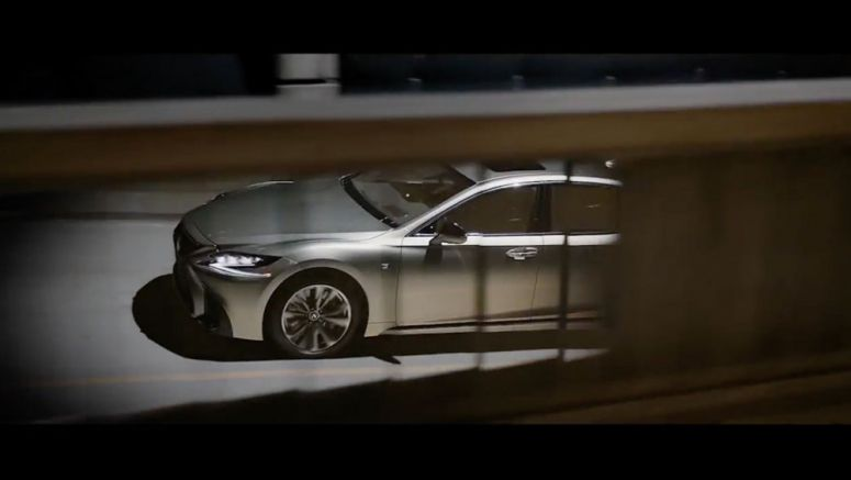 Behind-the-Scenes: Lexus LS Commercial Uses Giant LED Drone