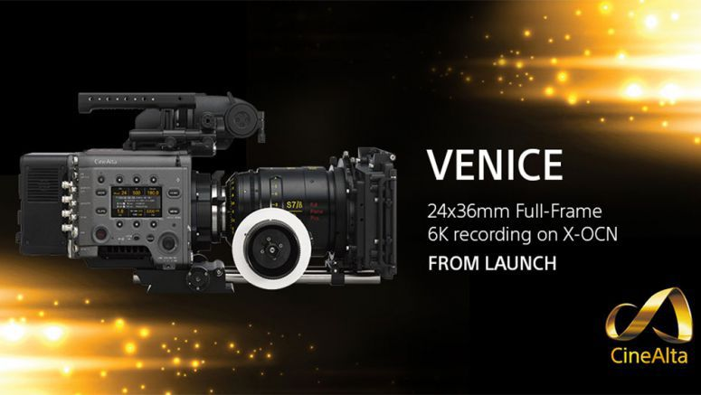 Sony enables 24x36mm Full-Frame Image Capture upon Launch of VENICE Digital Motion Picture Camera System