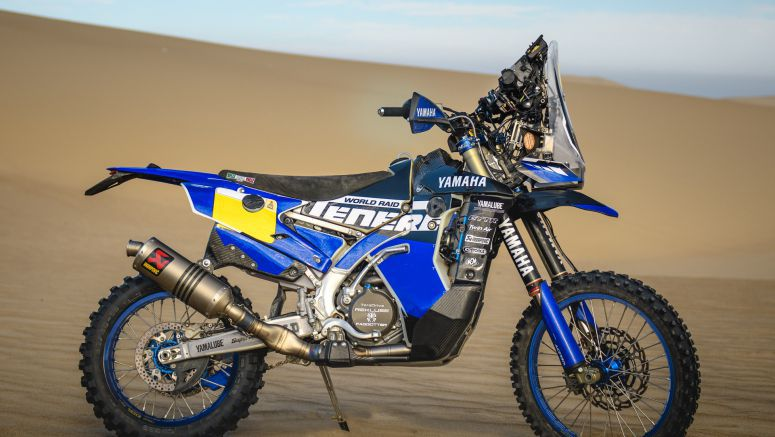 Yamalube Yamaha Official Rally Team Gear Up For 2018 Dakar Rally
