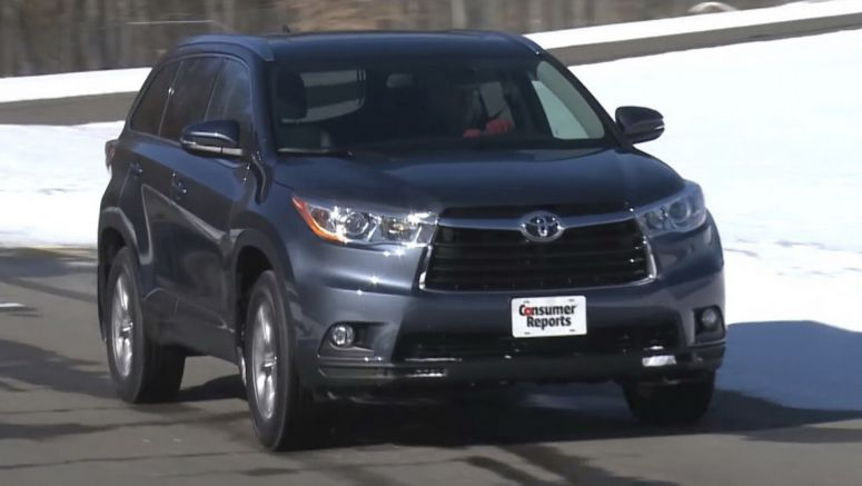 Toyota Highlander Tops Consumer Reports' SUV Satisfaction Survey