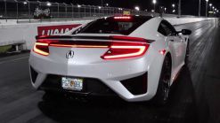 2017 Acura NSX With Custom Exhaust Runs The 1/4 Mile In 11 Seconds