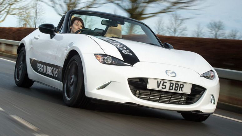 BBR Launches 210HP Turbo Kit For Base 1.5-liter Mazda MX-5