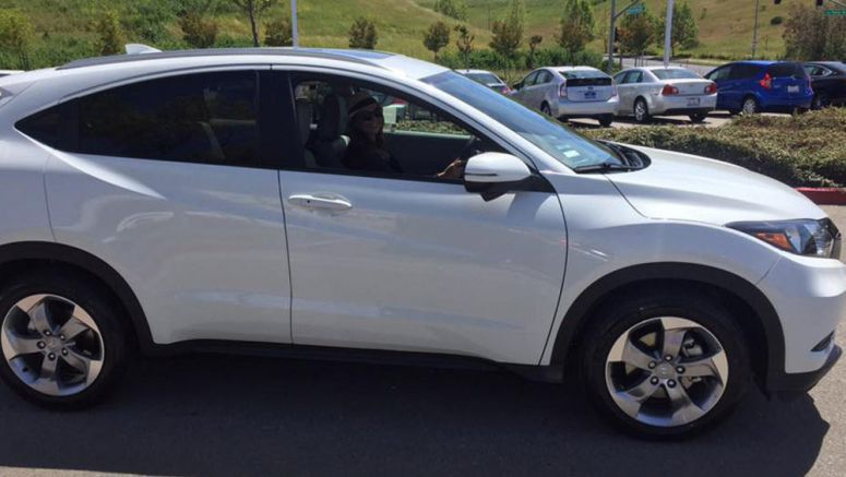 Stolen Honda HR-V Found With Lyft Stickers On, Ride-Sharing Company Is Oblivious