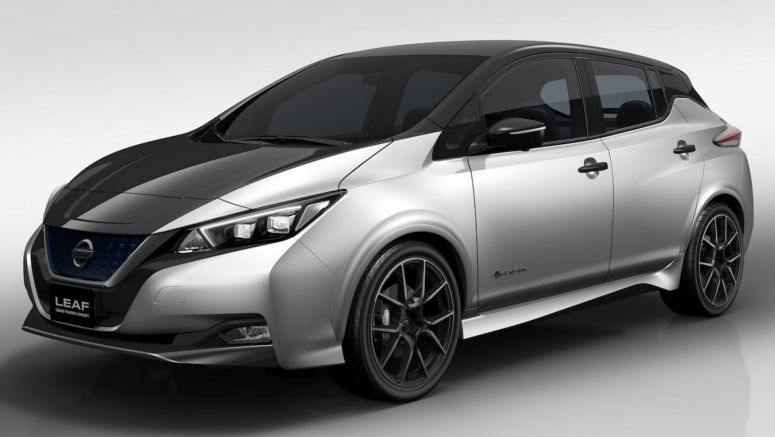 Nissan Leaf Grand Touring Concept Joins A Flurry Of Tuned Studies For 2018 Tokyo Auto Salon