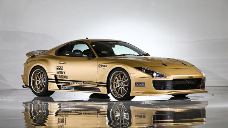 Top Secret's V12-swapped, 222 mph Toyota Supra up for auction