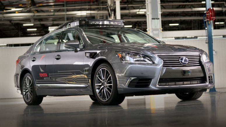 Next-Generation Lexus Autonomous Driving Vehicle to Debut at CES