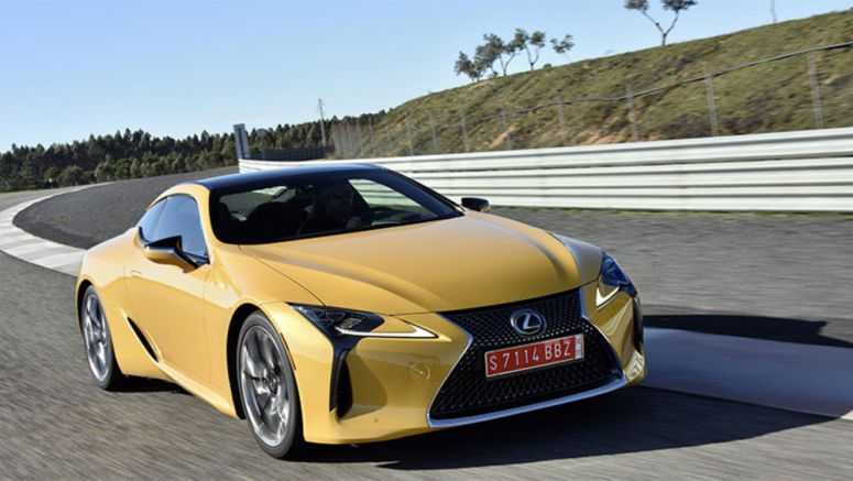 Lexus has a approved a convertible version of the LC, and is close to green-lighting a high-performance LC F trim