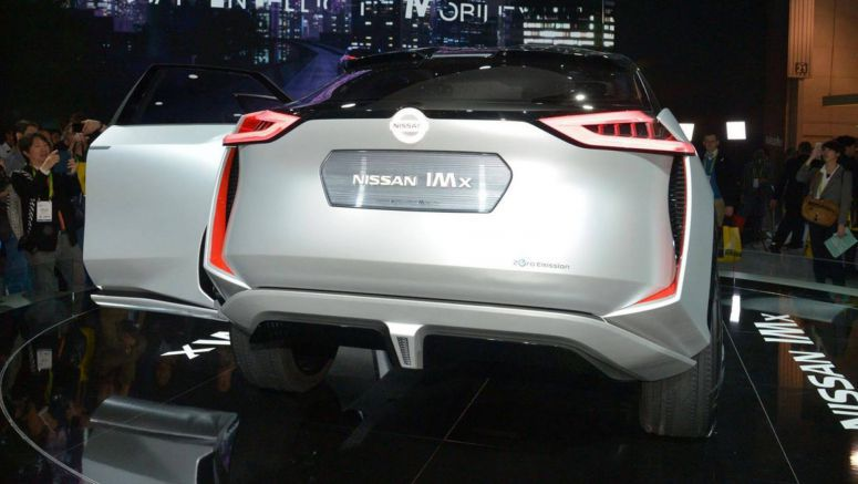 Nissan IMx Concept Makes U.S. Debut At CES