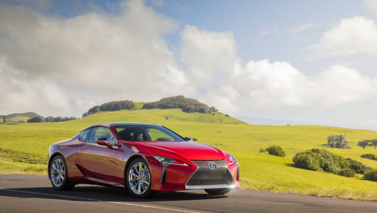 Lexus Reportedly Expanding LC Lineup with Convertible, High-Performance F Variants