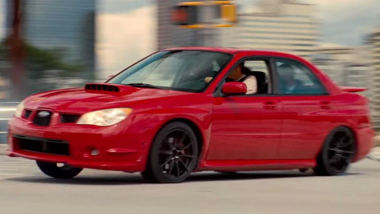 Baby Driver Returns To Subaru WRX To Pull Off Snowy Drifts
