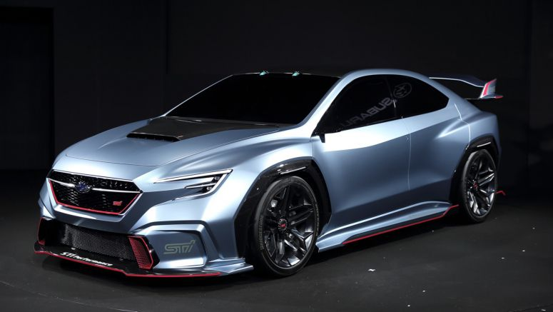 Subaru Viziv Performance STI Concept is Awesome, But Don't Get Excited