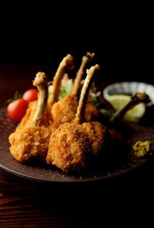 Tulip-shaped fried chicken from chef with his dad's secrets