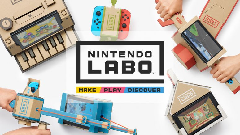 Nintendo LABO for Switch Lets People Build and Use Their Own Peripherals