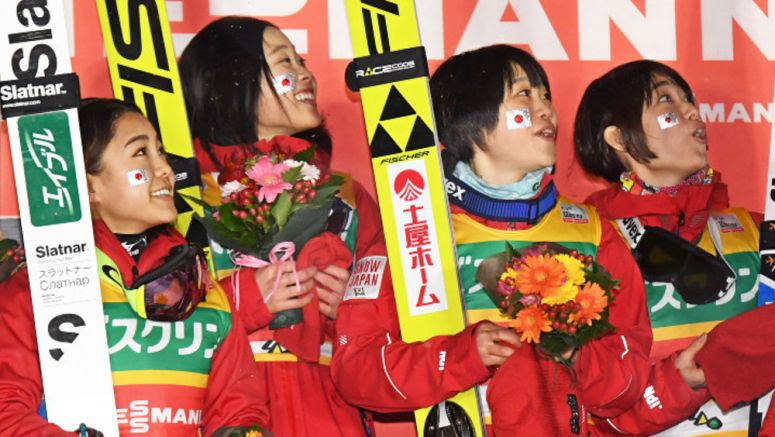 Ski jumping: Japan sweeps World Cup team events