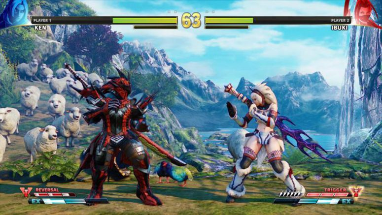 Street Fighter 5 To Feature Monster Hunter Themed Costumes