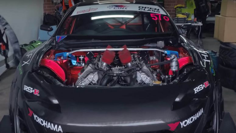 This Toyota 86 Time Attack Car Has A BMW M5 V10