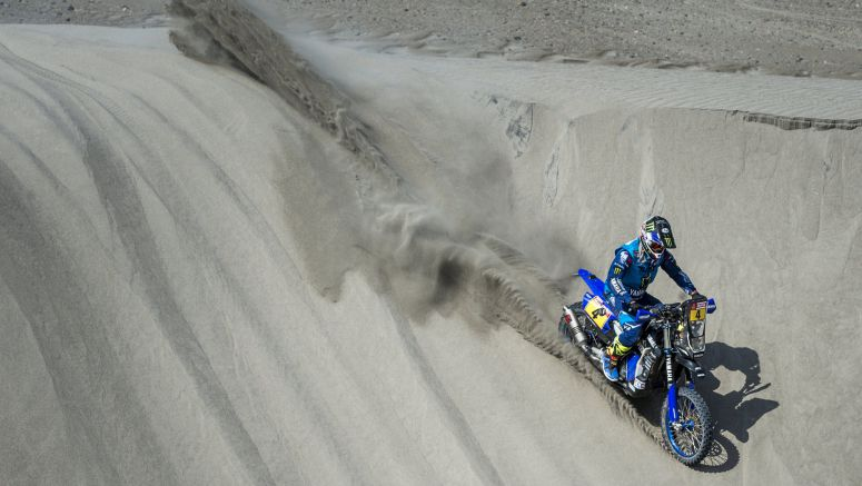 Van Beveren Retains Overall Lead After Dakar Rally's Stage Five