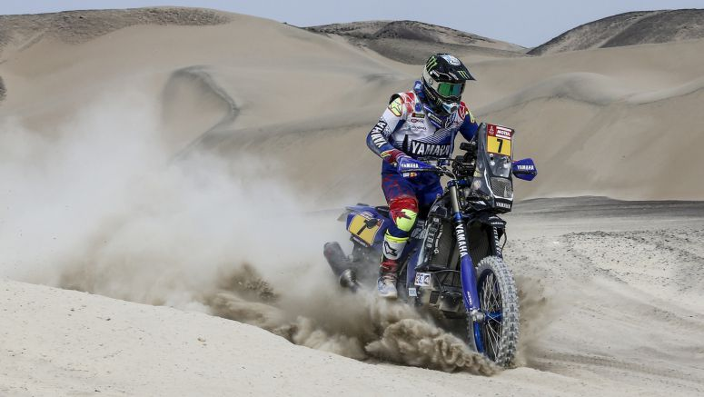Yamaha Racing Riders Battle Through Challenging Stage Three Of Dakar Rally