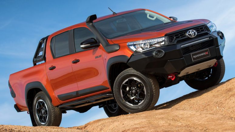 Toyota HiLux Gets Even More Rugged With New Trims Down Under