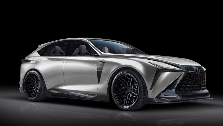 Tuned: Lexus LF-1 Limitless Concept Gets Aftermarket Treatment