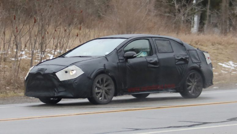 2020 Toyota Corolla doesn't look like much yet in these spy photos