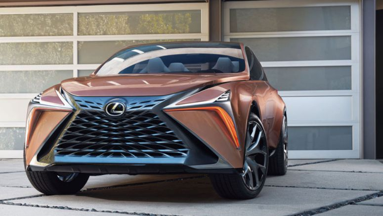 Lexus LF-1 Limitless Displays Signature Spindle Grille