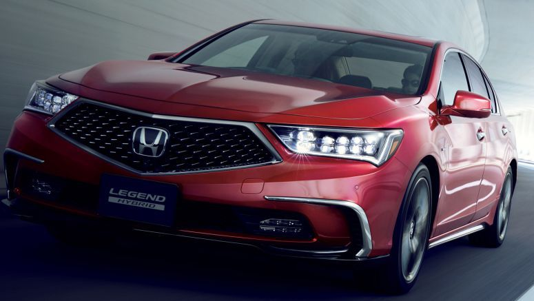 Acura RLX Launches Back At Home As The Updated Honda Legend